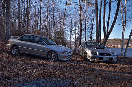 HDR Imprezas in NH
