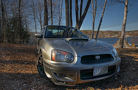 HDR 2005 WRX in NH Head On Shot